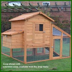 CHICKEN-COOP-RUN-HEN-HOUSE-POULTRY-ARK-HOME-NEST-BOX-COUP-COOPS-RABBIT-HUTCH