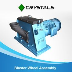 We supply various type of full wheel assembly including base/mounting plate. The entire assemblies are made in such a way that it is easy to install. Our Technician can also be deployed for assist in the installation work.  #crystalsgroup #blasterwheelassembly #machine #industries Visit - http://crystals-group.com/