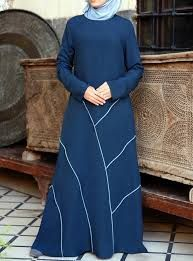 shukr abaya with piping - Google Search