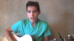 """Hey LA"" Ryan Beatty cover - live acoustic by Jacob Whitesides"