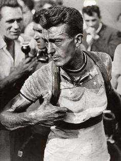 Louison Bobet, three time winner of the Tour de France (1953, 1954, 1955) as well as winning the World Race Championship (1954), Milan-San Remo (1951), Tour of Flanders (1955), Paris-Roubaix (1956), Bordeaux-Paris and Giro di Lombardia among many other races.