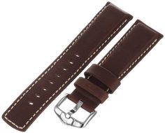 Hirsch 145021-10-22 22 -mm Genuine Calfskin Watch Strap by Hirsch -- Awesome products selected by Anna Churchill