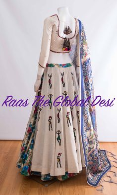 Raas the global desi is Chicago based Indian clothing online store-shop wedding,bridal sarees,lehengas,anarkalis and chaniya choli online USA Choli Designs, Lehenga Designs, Blouse Designs, Garba Dress, Anarkali Dress, Lehenga Blouse, Cotton Lehenga, Choli Dress, Lehenga Gown