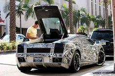Sharpie Lamborghini Gallardo