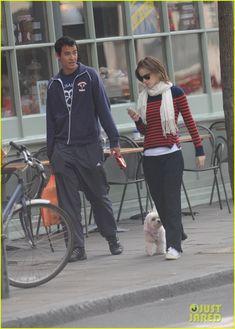 Emma Watson with Will Adamowicz. (Aug. 23)