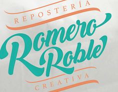 "Check out new work on my @Behance portfolio: ""Romero Roble""…"