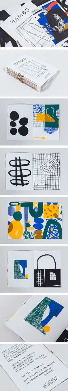 This a good example of type and how it was used to work well with the hand drawn qualities of the piece.