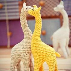 Miss Giraffe amigurumi pattern by StuffTheBody