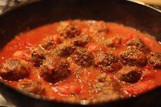 Super rýchle meat balls na taliansky spôsob