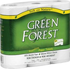Green Forest Size Your Own Towels