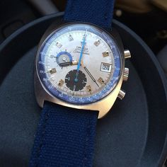 Taking my wife out for dinner for our 18th anniversary how she stuck by me all those years still escapes me - I'll celebrate wearing my grandad's #vintage #Omega #Seamaster #chronograph cal 1040 on a blue #drunkartstraps canvas #vintagewatch #vintagediver #horology #instawatch #wruw #wristporn #wotd #womw #watch #watchporn #watchfam #watchoftheday #watchesofinstagram #jeep99dad #carolinawatches #charlottecrew by jeep99dad #omega #seamaster #watchesformen