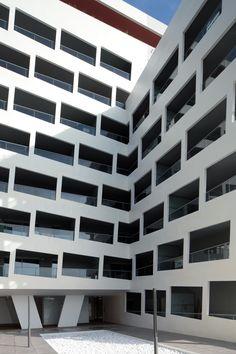 Apartment Building , France 2012 / Emmanuel Combarel, Dominique Marrec Architects