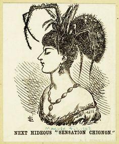 Cartoon from 1868. spider!