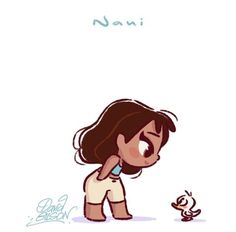David Gilson Disney Chibi Nani