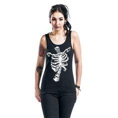 Skeletto Topp -Skeletto- -- Kjøp nå hos EMP -- Mer Rock wear Topper tilgjengelig online - Uslagbare priser!