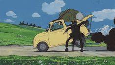 a real hero Manga, Lupin The Third, Funky Art, Old Anime, Hayao Miyazaki, Fiat 500, Fantastic Art, Anime Figures, Aesthetic Anime