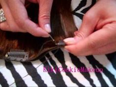 Save Money! Make Your Own Clip In Hair Extensions!