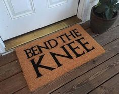 Game of Thrones Bend The Knee mat