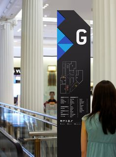 FORUM MALL on Behance: The design lends itself to many individual signs for the whole mall!