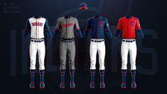 MLB Jerseys Redesigned on Behance Mlb Uniforms, Baseball Uniforms, Giants Baseball, Mlb Teams, Motorcycle Jacket, Behance, Jackets, Concept, Sports