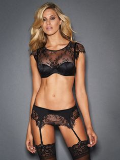 8f7d1db960a43 Frederick s of Hollywood is proud to introduce the Ophelia Delicate Lace Bra  Set. Distinctly memorable