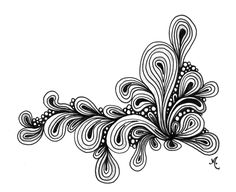 Basic Zentangle | to a zentangle class a couple months ago last week at our zentangle ...