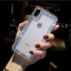 Transparent bling phone case - For Note 8 / 2