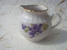 Vintage Soviet Porcelain Creamer Made in USSR in 1970s by Astra9, $8.00