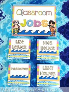 Classroom Decor Beach Theme