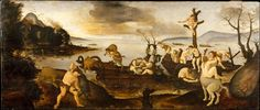 The Return from the Hunt Piero di Cosimo (Piero di Lorenzo di Piero d'Antonio) (Italian, Florence 1462–1522 Florence) Date: ca. 1505–7 Medium: Tempera and oil on wood