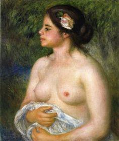 Gabrielle with a rose, renoir