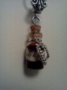 My latest Stefan Inspired Blood Vial Necklace!
