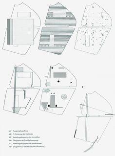 Competition design Rem Koolhaas (OMA) for Parc la Villette (F) Oma Architecture, Architecture Mapping, Architecture Collage, Architecture Drawings, Contemporary Architecture, Classical Architecture, Architecture Diagrams, Architecture Details, Parc La Villette