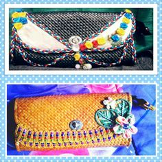 this is kind of clucth. made from natural fibers. special handmade. eilenebags.blogspot.com