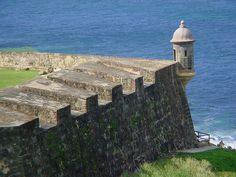 Garita del Diablo, Fuerte de San Cristobal, Viejo San Juan, Puerto Rico.