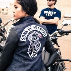 Sons of Anarchy Rough Rider Women's Jacket