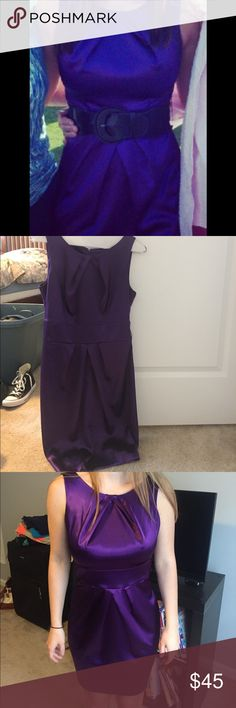 Purple dress Purple dress in great condition! Worn once for my high school graduation Dresses