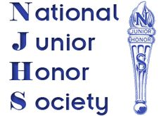 Finish good in NJHS and move on to NHS (National Honor Society)