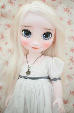 겨울왕국 베이비돌 엘사안나 자매 *버터링&칸쵸 : 네이버 블로그
