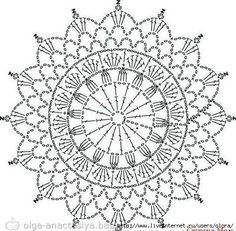 Afbeeldingsresultaat voor mandalas tejidas a crochet patrones Mandala Au Crochet, Crochet Doily Patterns, Crochet Diagram, Crochet Chart, Thread Crochet, Crochet Doilies, Crochet Stitches, Dream Catcher Crochet Pattern, Crochet Lace