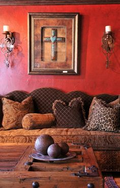 Einrichtungsbeispiele Mexikanischer Stil Wohnideen