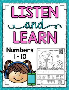 Listen and Learn Activities {Numbers to 10)