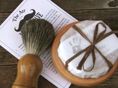 Mens shave sets, single or for your groomsmen at your wedding. Badger brush. heck yeah.
