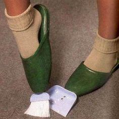 Broom shoes