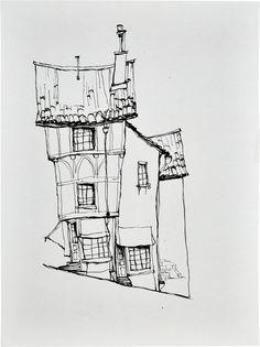 Animation Art:Production Drawing, The Boxtrolls Cheesebridge Concept Sketch Original Art(LAIKA, 2014).... (Total: 3 ) Image #2