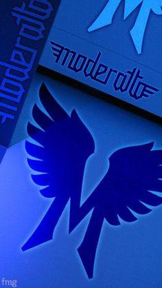 Moderatto logo azul