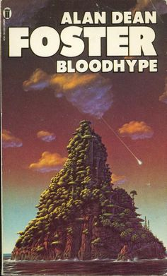 TIM WHITE - art for Bloodhype by Alan Dean Foster - 1979 New English Library
