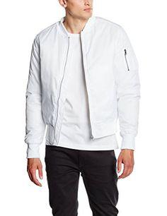 Bomberjacke Weiß Look ➟ Damen/Herren