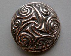 Spiral brooch by Master Ark www.MasterArk.com