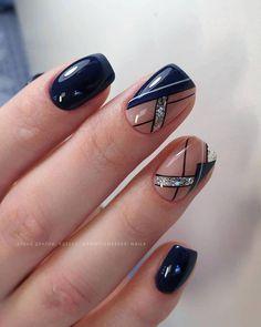 Nail Art Hacks, Nail Art Diy, Perfect Nails, Gorgeous Nails, Nail Art Designs Videos, Nail Designs, Simple Gel Nails, Gel Nagel Design, Nails Only